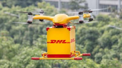 DHL 於中國落實無人機送貨 起用億航機體