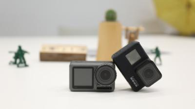 【GoPro VS Osmo Action實測】 防震、語音控制性能大比拼