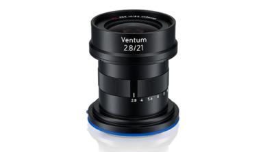 蔡司 Zeiss 推出無人機專用鏡頭 Ventum 2.8/21 超廣角定焦
