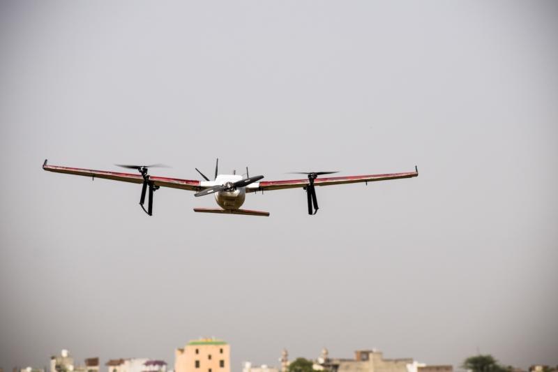 印度食物外送公司加入「空中」爭奪戰 旗下無人機成功試飛