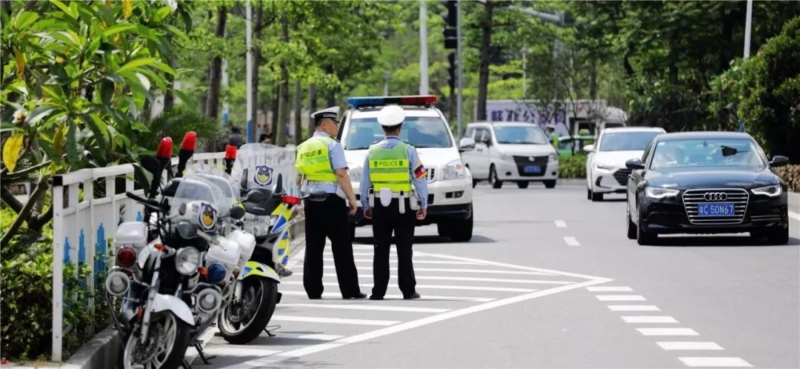 結合無人機及「電子警察」 珠海交警逮近千車輛違規切線