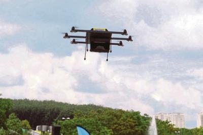 馬來西亞試驗無人機送餐 下單至食物送達僅需 12 分鐘