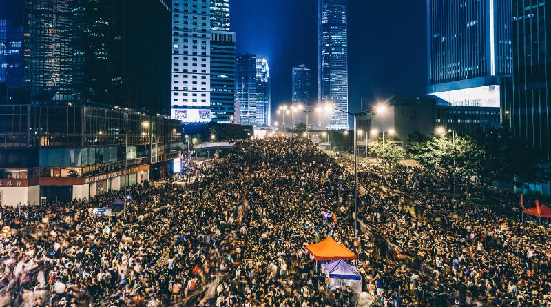 空拍過百萬港人怒吼撤回逃犯條例 空拍圖片與影片記錄現場