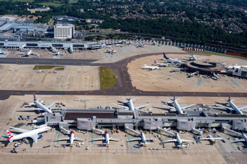 無人機癱瘓英國格域機場餘害 機場當局損失 140 萬英鎊