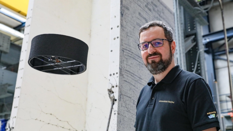 瑞士初創公司推雙螺旋槳無人機 不怕碰撞、穩定飛行靠什麼?