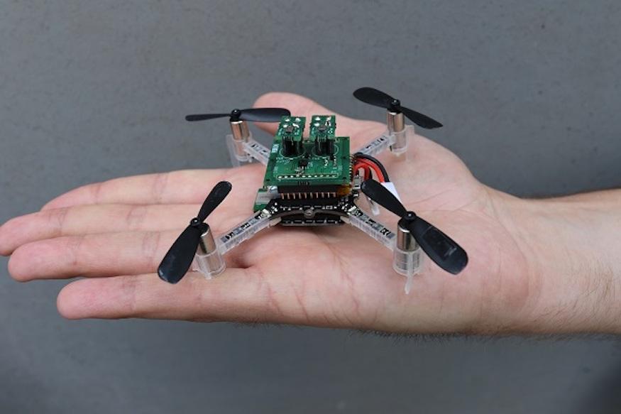 西班牙研究團隊改裝迷你無人機 可深入複雜環境偵測有毒氣體