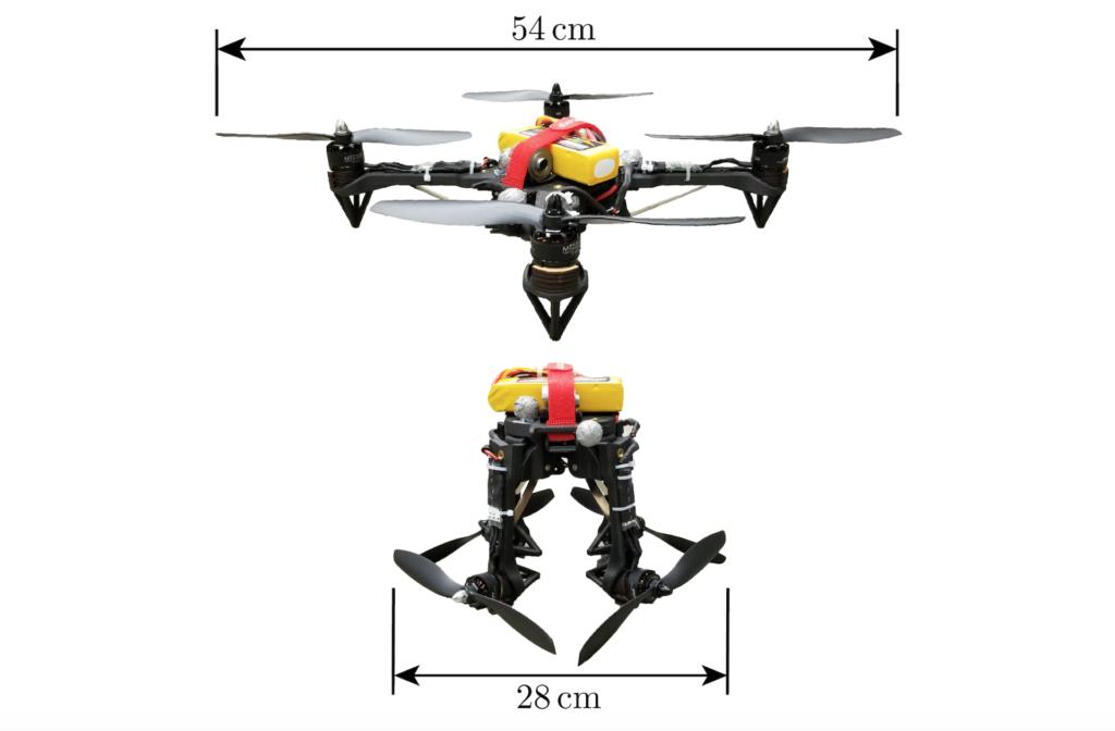 懂「縮骨功」之無人機 空中變形穿越狹窄空間