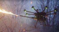 無人機火焰噴射器部件上市 1,499 美元輕鬆打造噴火無人機
