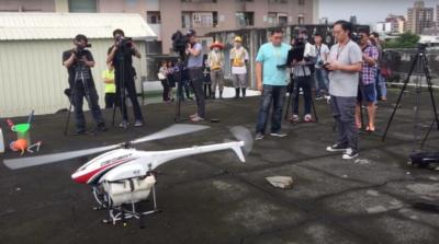高雄登革熱防治 首次採用無人機執行噴藥
