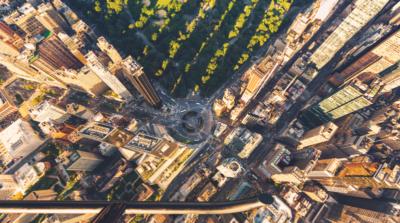 直昇機高空 800 尺巡邏 驚遇無人機危險靠近