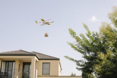 繼澳洲首都坎培拉 Wing 配送無人機飛入昆士蘭洛根