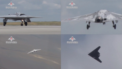 繞圈飛行逾 20 分鐘 俄隱形無人戰機「獵人-B」完成首航