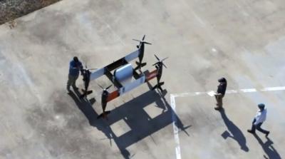 APT 70 自主送貨無人機試飛成功 加入 Yamato 包裝處理系統