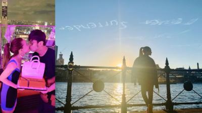 周杰倫僱無人機天空「寫字」告白昆凌 網民:好浪漫啊
