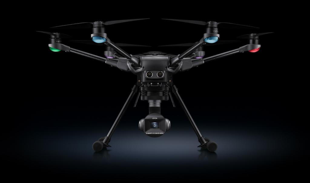 Yuneec 聯手 Leica 出擊! Typhoon H3 搭載共同打造雲台相機