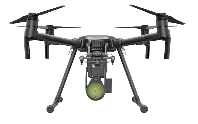 與開發商合作 DJI 上架兩款無人機負載產品:甲烷巡檢儀、雲台探照燈