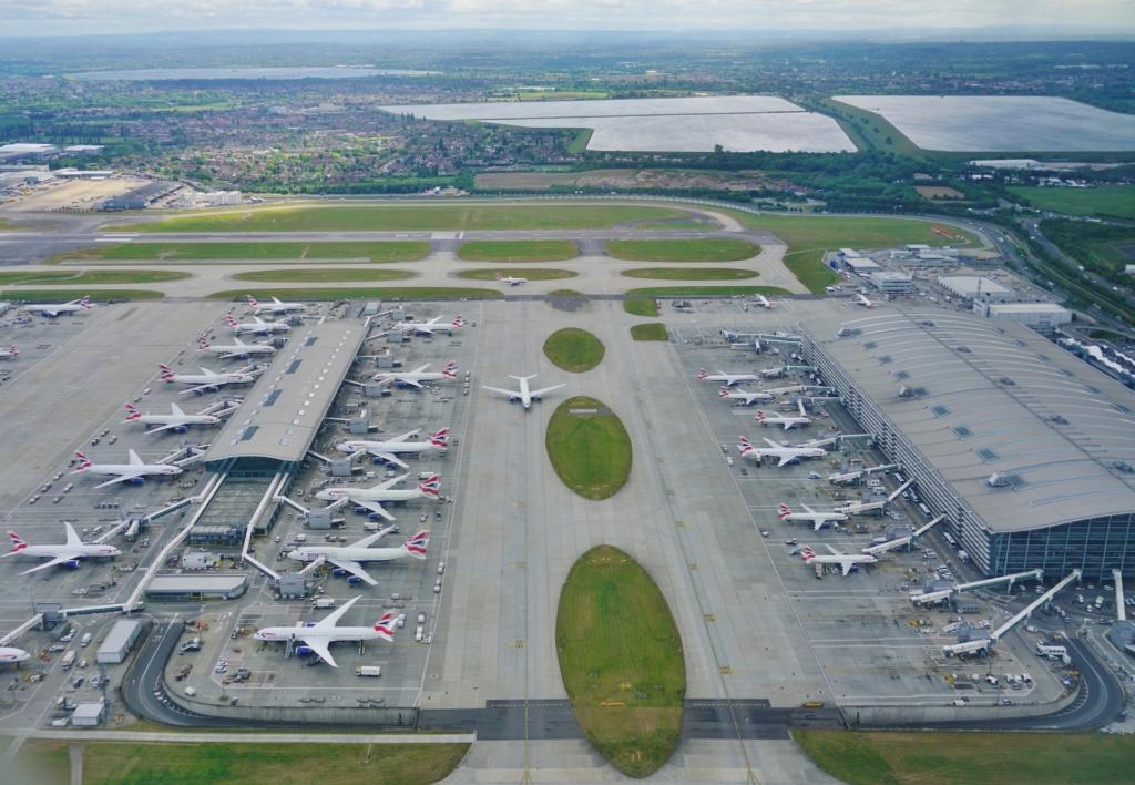 環團預告用無人機干擾航運 倫敦希斯路機場:會確保運作正常