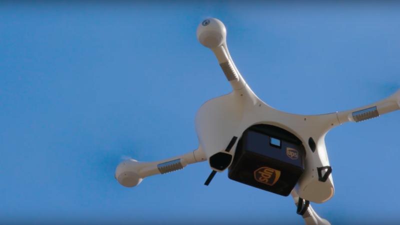 UPS 與美國大型零售商 CVS 合作 以無人機宅配訂單