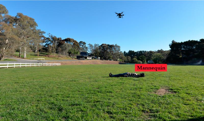 無人機生命探測研究有新突破 可在 8 米距離內分出活體屍體