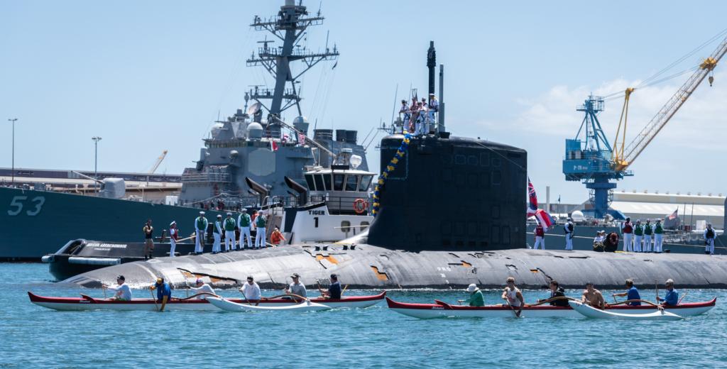 省時省錢! 美國太平洋艦隊派無人機補給航行中潛艇
