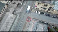 英警發佈影片:航拍機追蹤疑犯 助警員輕鬆緝人