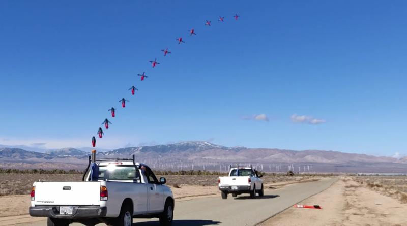橢球形「炮射無人機」彈射起飛 跳過起飛階段直接飛行
