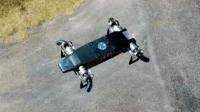 無人機捨棄旋翼 垂直起降靠噴氣管 未來將公開發售