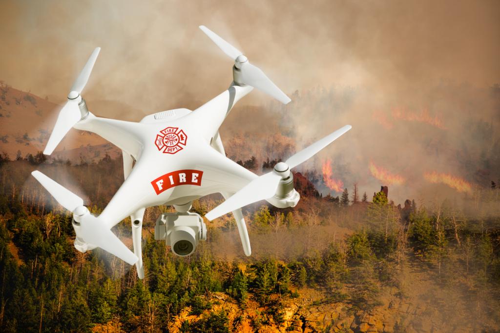 美內政部下令停飛編隊內中國製無人機 DJI:感到失望