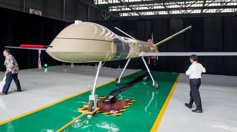 印尼作戰用無人機原型面世 同時可作民用及軍事用途