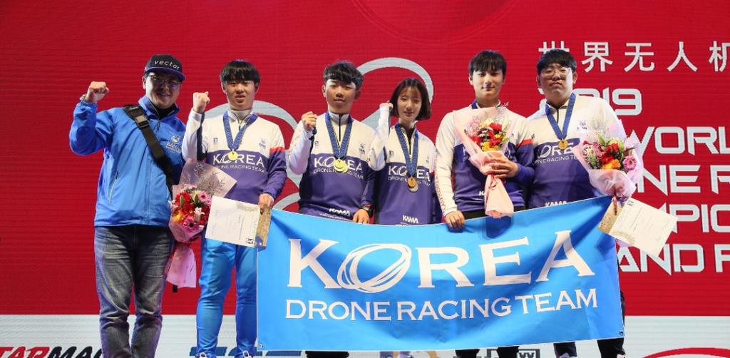 韓國揚威 FAI 世界無人機錦標賽 12 歲泰國選手再奪女子組冠軍