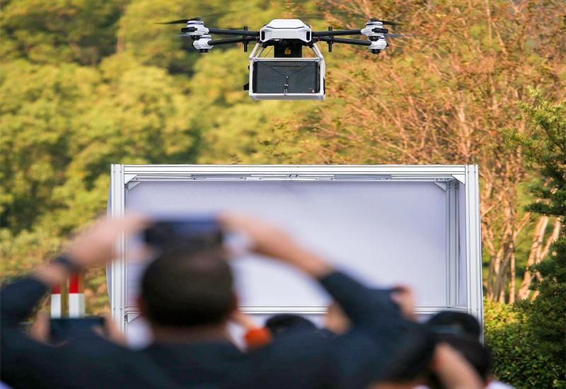 空巴夥 XAG 廣州試驗無人機送餐 特選客戶:這太酷了