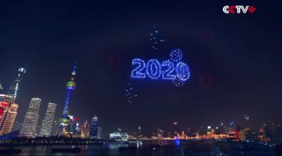 上海跨年無人機表演被指「造假」 官方要求預錄確保直播效果