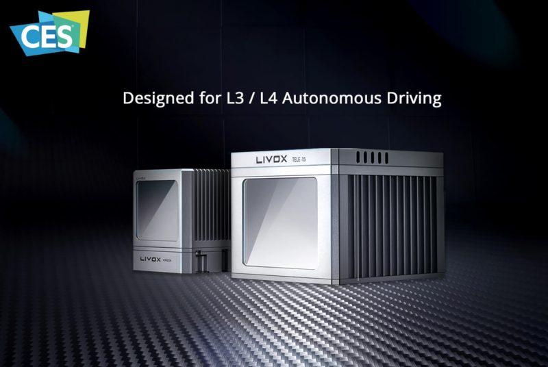 【CES 2020】DJI 子公司 Livox 發布車載激光雷達 涉足自動駕駛汽車領域