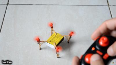 超簡易! 教你 DIY 火柴盒迷你無人機 真的可以飛起來!