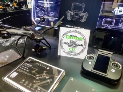 【CES 2020】港企 XDynamics 揚威海外 新作 Evolve 2 獲選最佳專業無人機