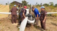 柬埔寨現無人機殘骸 機身帶漢字 確認無武器或彈藥