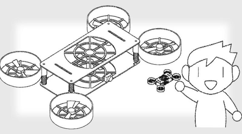Sony 申請無人機專利 旋翼可內收 外殼成遙控器
