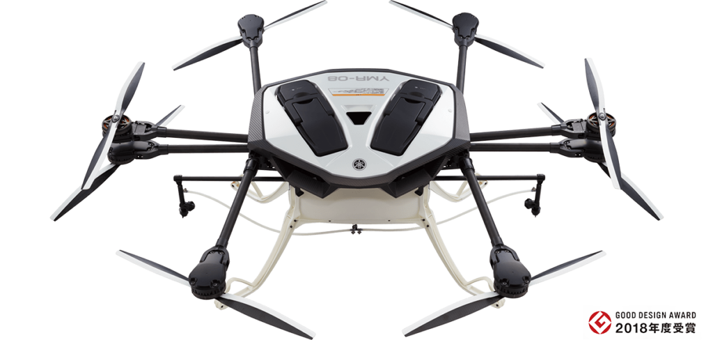 新增路徑規劃、噴灑力強化 YAMAHA 發表高效率農用無人機
