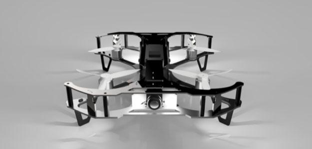 無人機結合 AI 系統 自動檢查圖書館藏書
