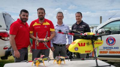 澳洲用 DJI Mavic 2 空投海水染色劑 助救生員更快定位救人