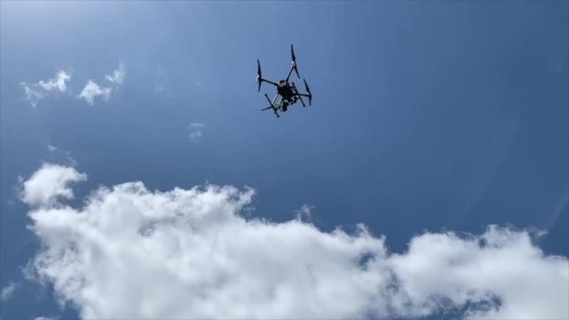 日公司開發無人機解決方案 空中測量樹木高度