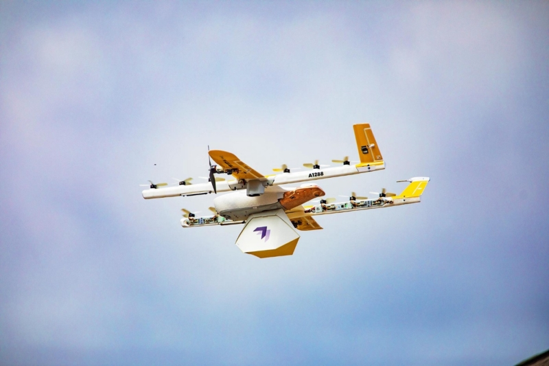 疫情帶動 Wing 無人機配送訂單倍增 追加外送咖啡服務