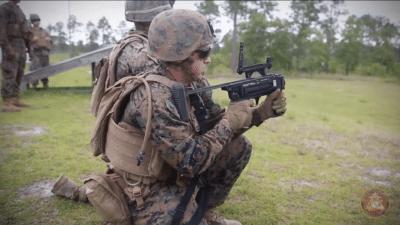 美研發軍用迷你偵察無人機 由榴彈發射器發動