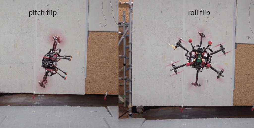實驗無人機能以任何姿態懸停飛行 且不像可變螺距系統般複雜