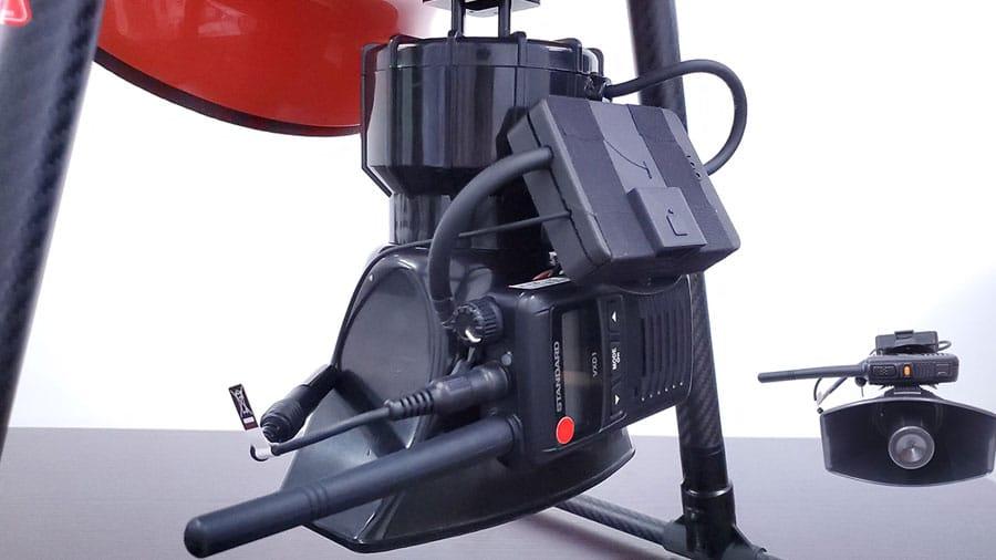 東光鐵工研發全日製救援無人機 可緊急搜索、廣播、空投物資