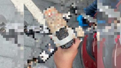 網傳「打馬賽克」疑似 DJI FPV 穿越機照片 機身沾泥因是墜機撿得?