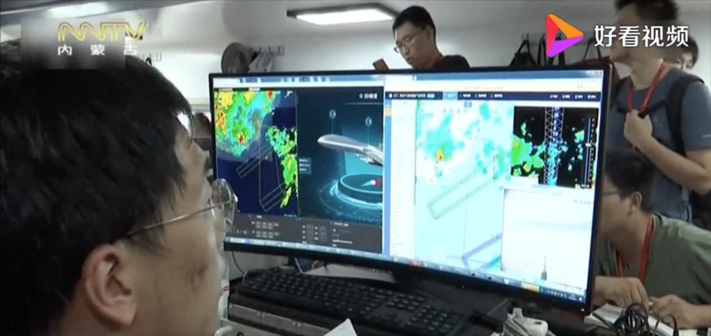中國完成首次高空無人機颱風觀測 投放北斗探空儀採外圍雲系數據