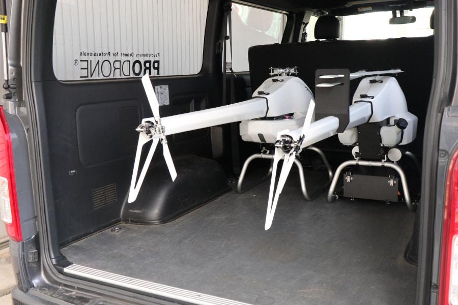 日本 PRODRONE 發表物流巡檢無人機 主打抗風強高續航力