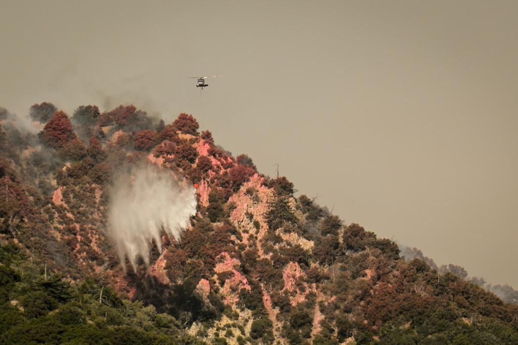 美內政部剎停購買中國無人機反帶來「反效果」 影響野火控制