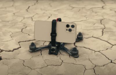iPhone 12 Pro 宣傳片示範裝載至無人機拍攝 空中追拍也有穩定畫質